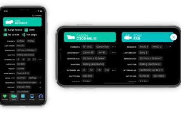 Actualización de la aplicación Cameras + Formats v4.0: Nuevas herramientas y una interfaz de usuario mejorada