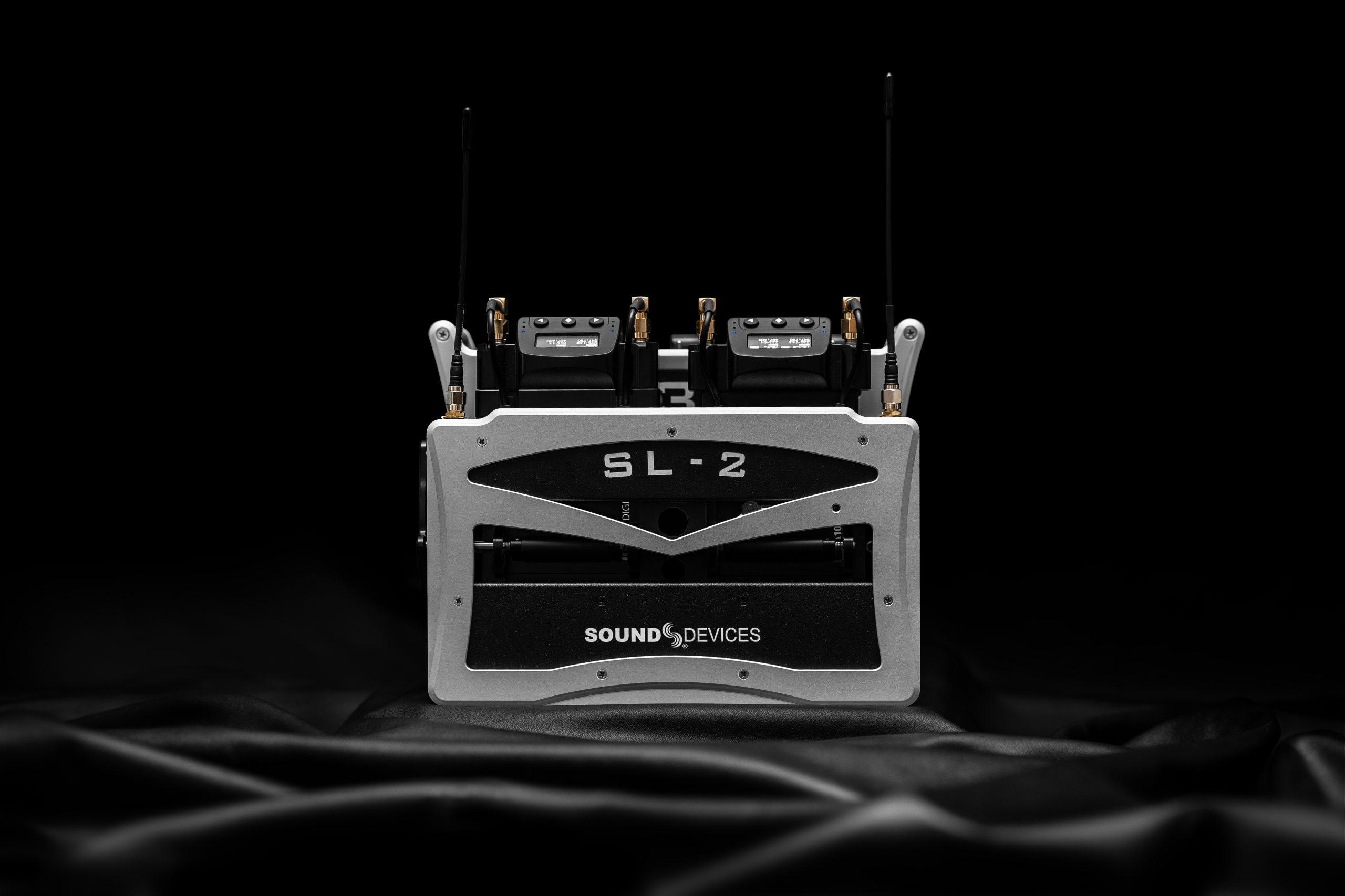 Anuncios de Sound Devices: Nuevo módulo inalámbrico SL-2 y actualización de firmware v6.00 para la Serie 8