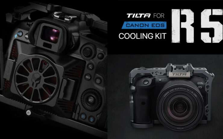 Tilta EOS R5 Cooling Kit - Fan Accessory To Combat Canon R5 Overheating