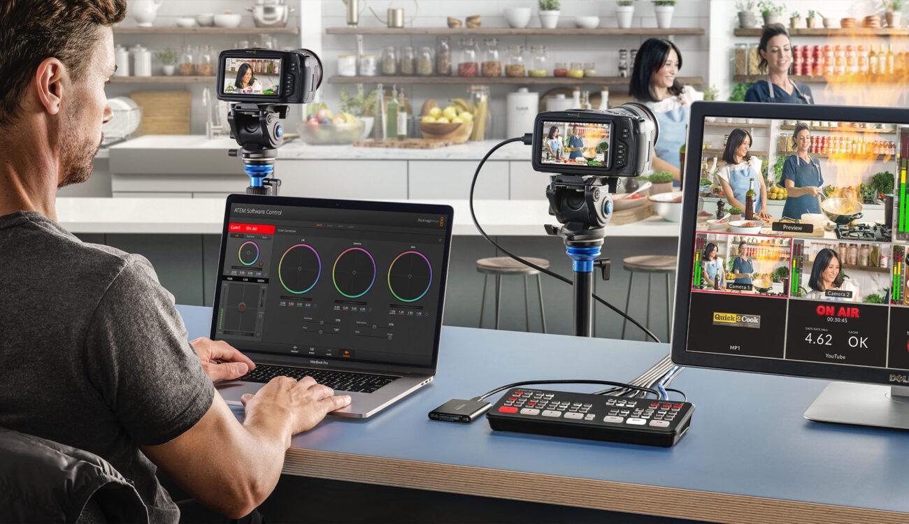 Blackmagic Design Atem Mini Pro Iso And Atem Stream Bridge A Closer Look Cined