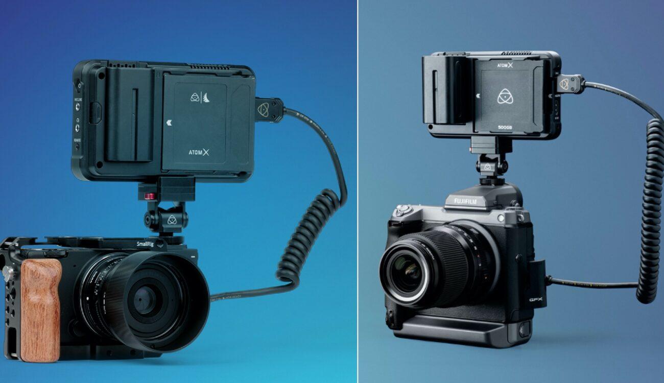 Lanzan firmware de pre-lanzamiento del Atomos Ninja V para cámaras FUJIFILM GFX100 y SIGMA fp