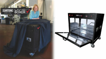 Cartoni UV-C Boxer Introduced - Sanitize Film Equipment Quickly