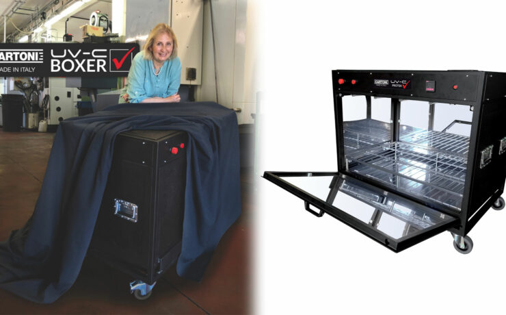 Cartoni UV-C Boxer Introduced - Sanitize Film Equipment Quickly