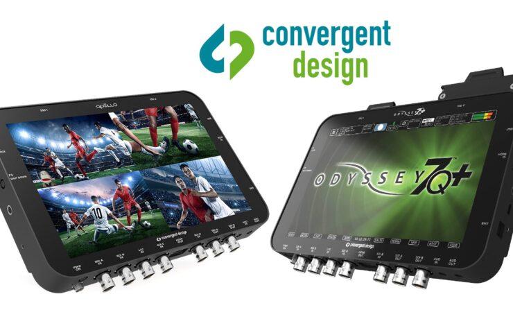 Convergent Design Odyssey 7Q+ and Apollo Recorders Discontinued