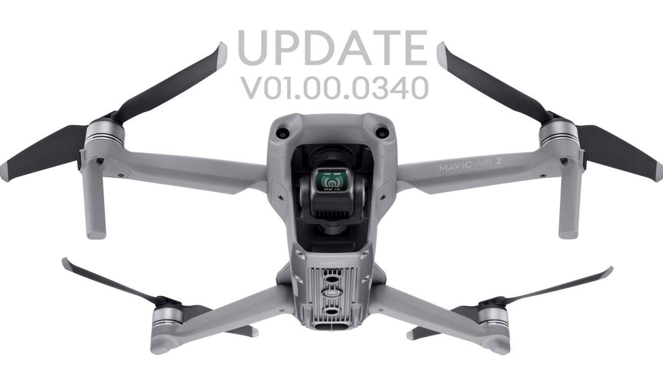 Lanzan actualización para el DJI Mavic Air 2: Zoom Digital, Modo de Vuelo de Seguridad y mucho más