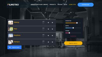 Filmstro - Nuevas páginas de música, finales musicales integrados y mucho más