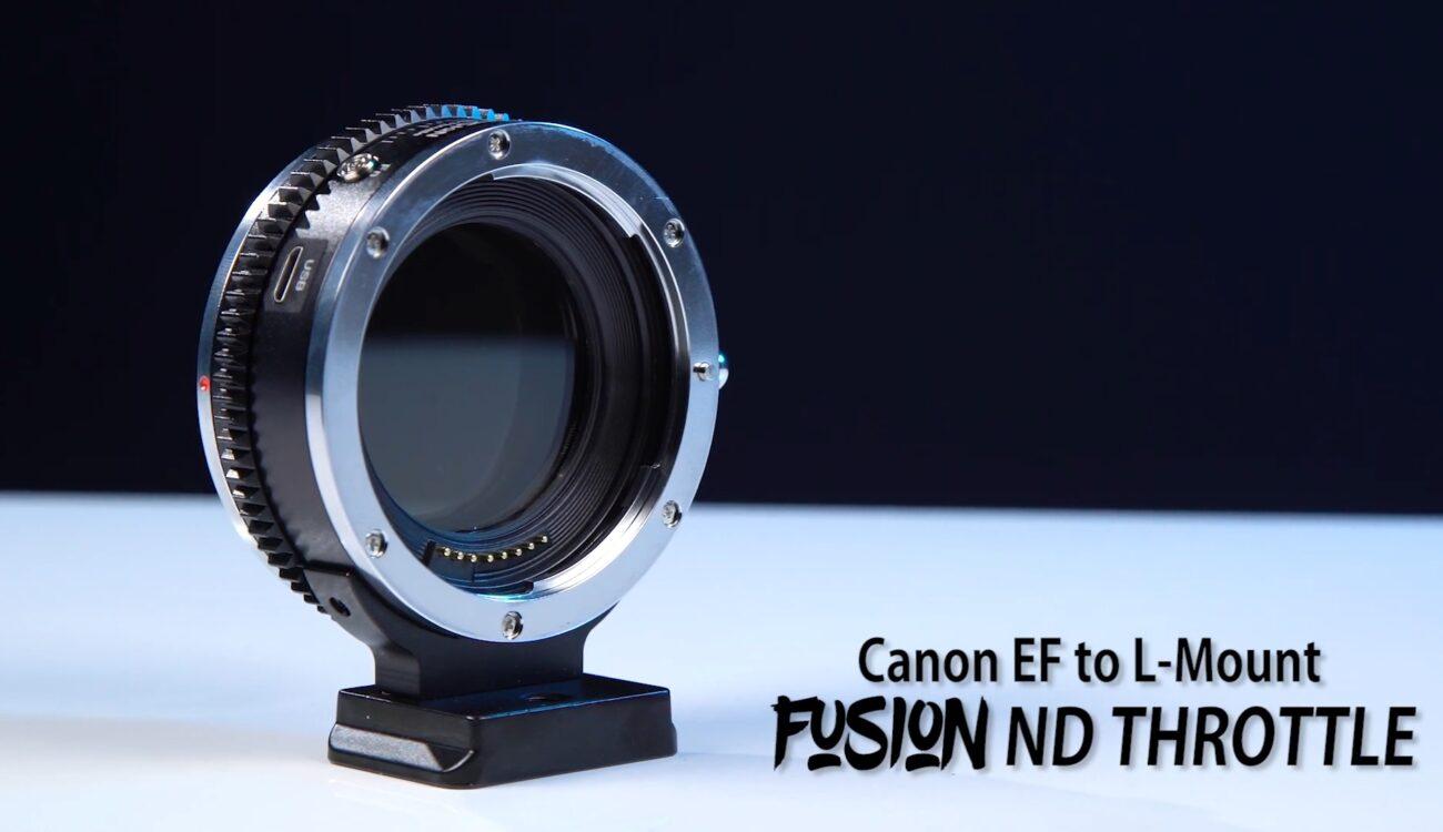 Lanzan el adaptador FotodioX Vizelex EF-L - ND Variable para cámaras con montura L