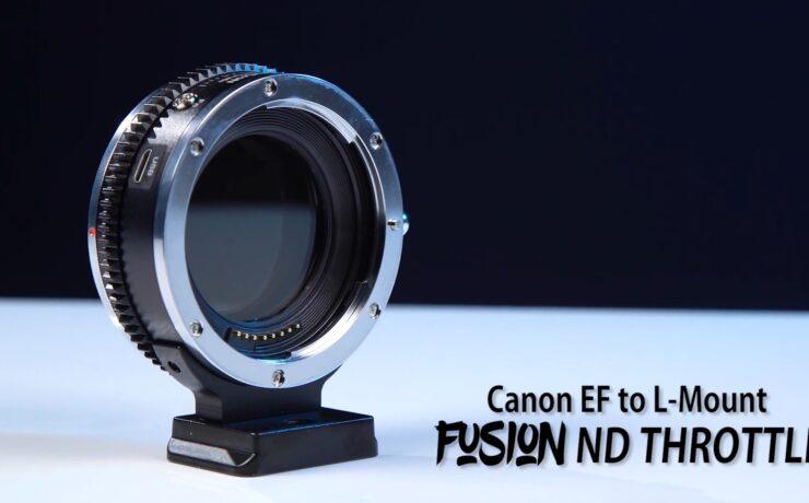 FotodioX Vizelex EF-L Adapter Released - Vari ND for L-Mount Cameras
