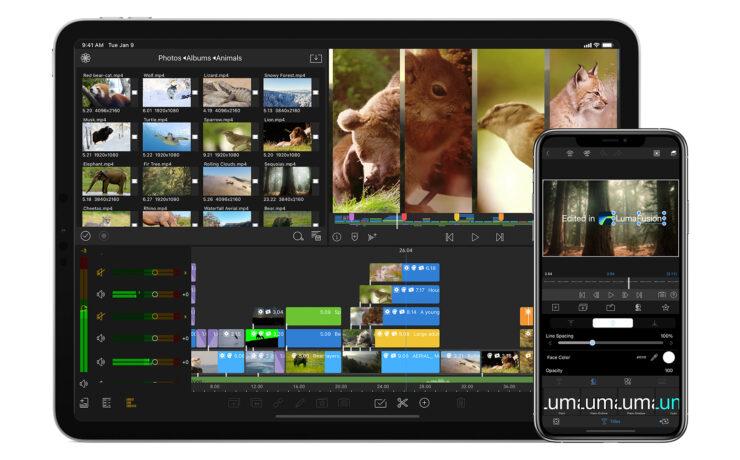 LumaFusion 2.3 adds Frame.io Integration and Multi-Select Editing