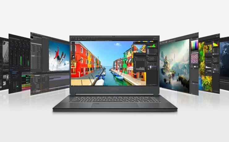 MSI Creator 15 Laptop Announced - Intel i7 8-Core, RTX 2080, Touchscreen Option