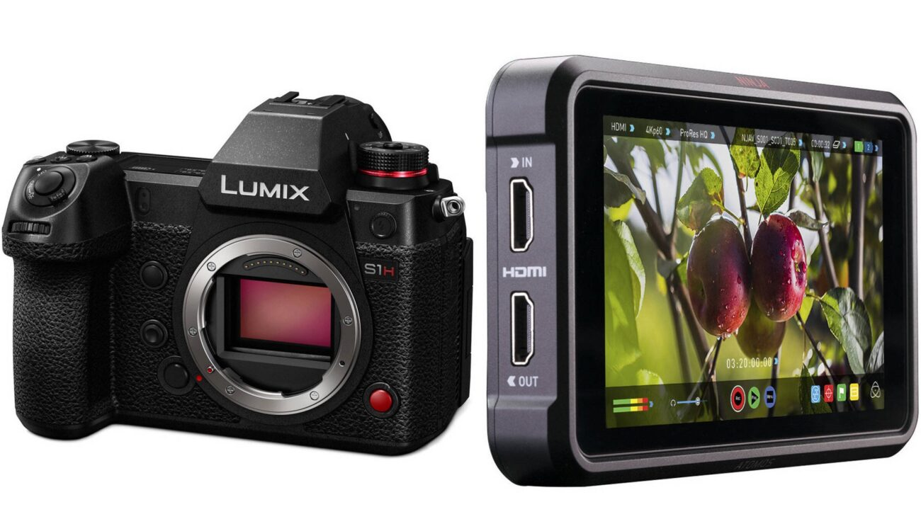 Lanzaron la actualización gratuita para el Atomos Ninja V - Desbloquea la grabación ProRes RAW de la Panasonic LUMIX S1H