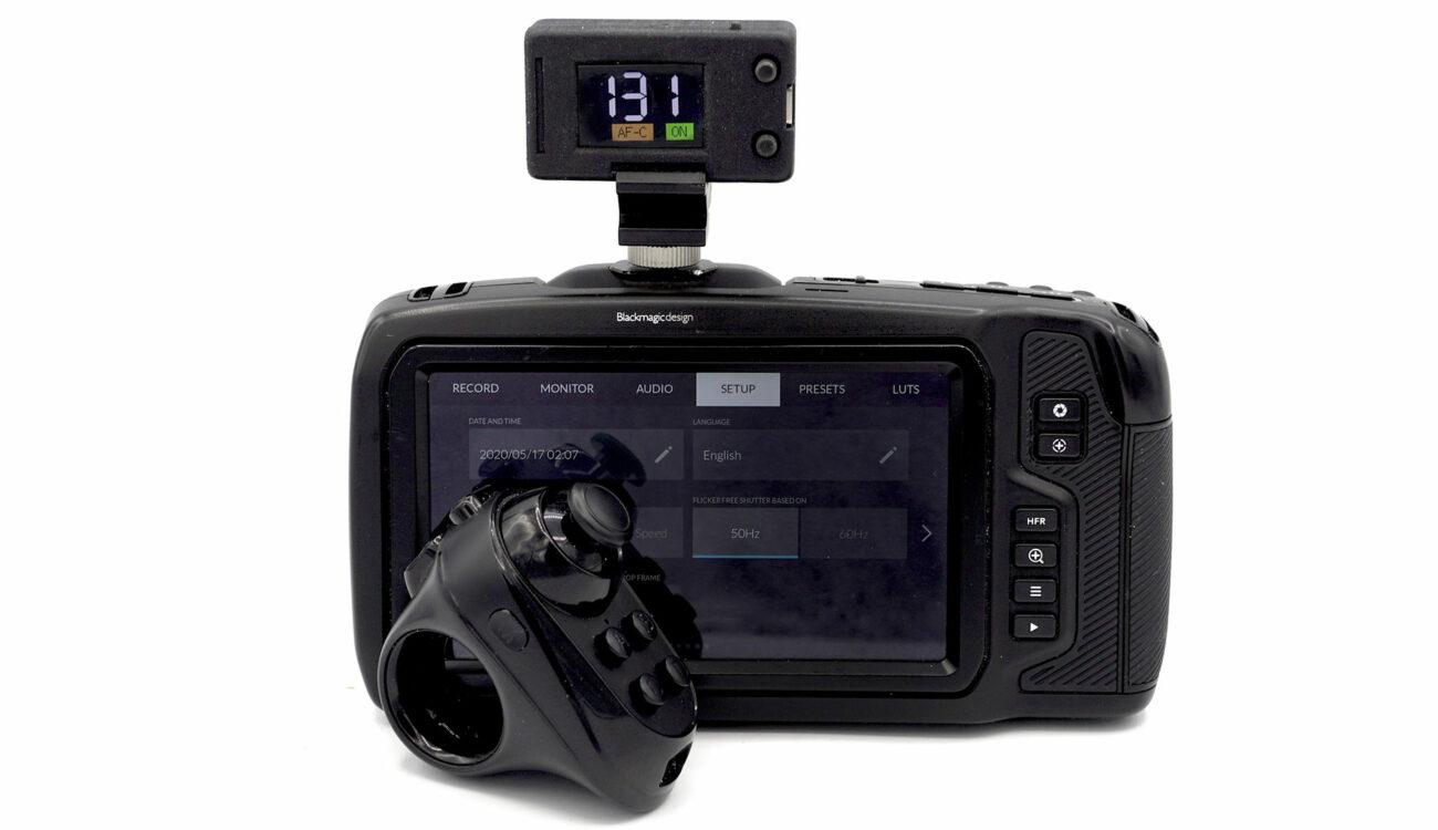 Actualización del controlador PBC para la Pocket Cinema Camera