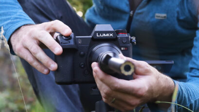 Panasonic LUMIX S1H and Laowa 24mm lens - Good Match for Macro Filming