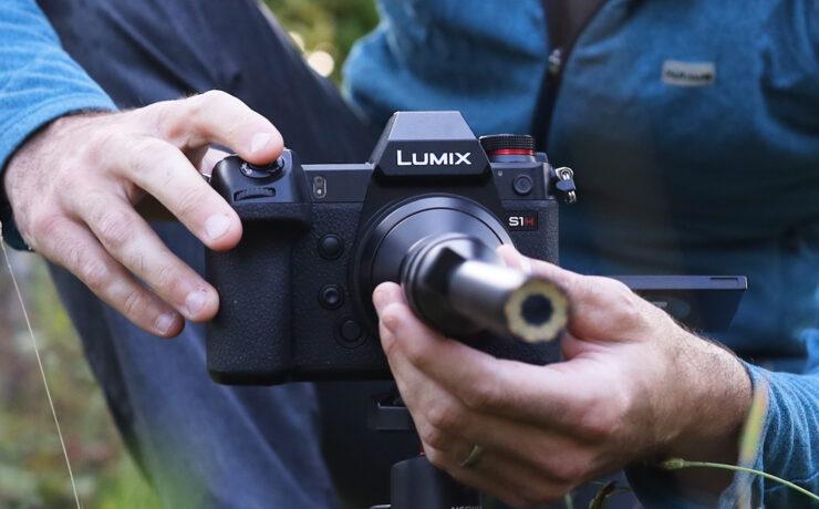 Panasonic LUMIX S1H and Laowa 24mm lens - Good Match for Macro Filming