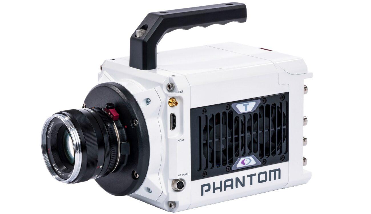Phantom T1340 4メガピクセルハイスピードカメラを発表