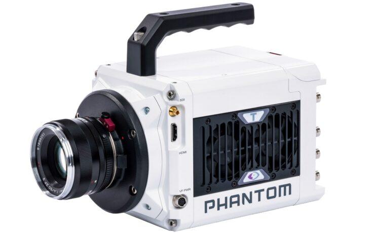 Phantom T1340 Four-Megapixel High-Speed Camera Announced