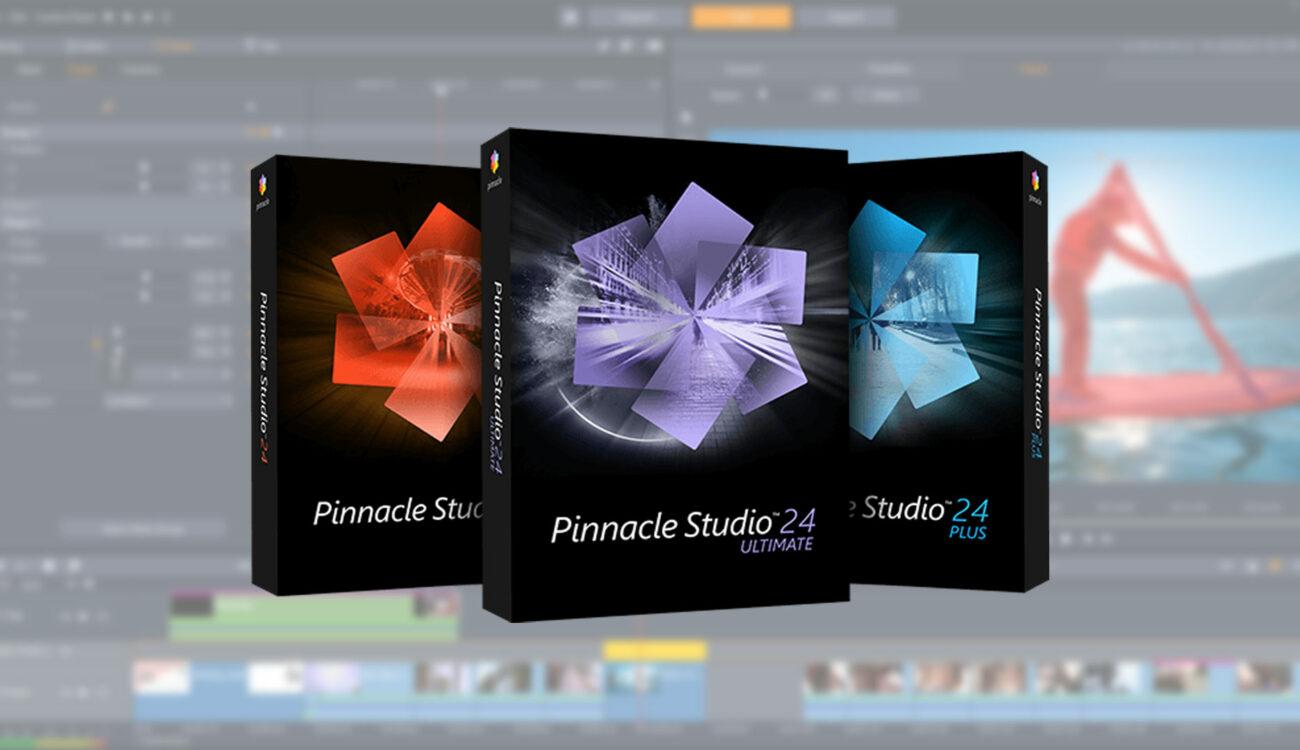 Anunciaron el Pinnacle Studio 24 Ultimate - NLE de Prosumidor mejorado
