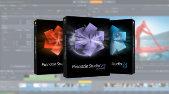 Anunciaron Pinnacle Studio 24 Ultimate - Prosumidor NLE mejorado