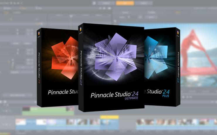 Pinnacle Studio 24 Ultimate Introduced - Improved Prosumer NLE