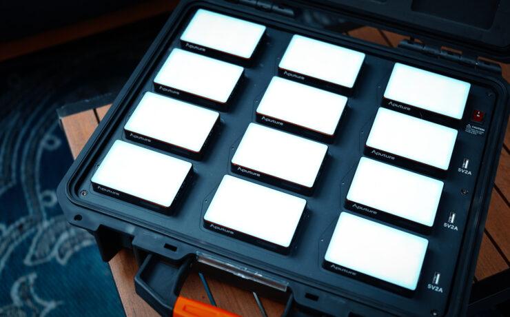 Aputure MC 12-Light Production Kit - First Look
