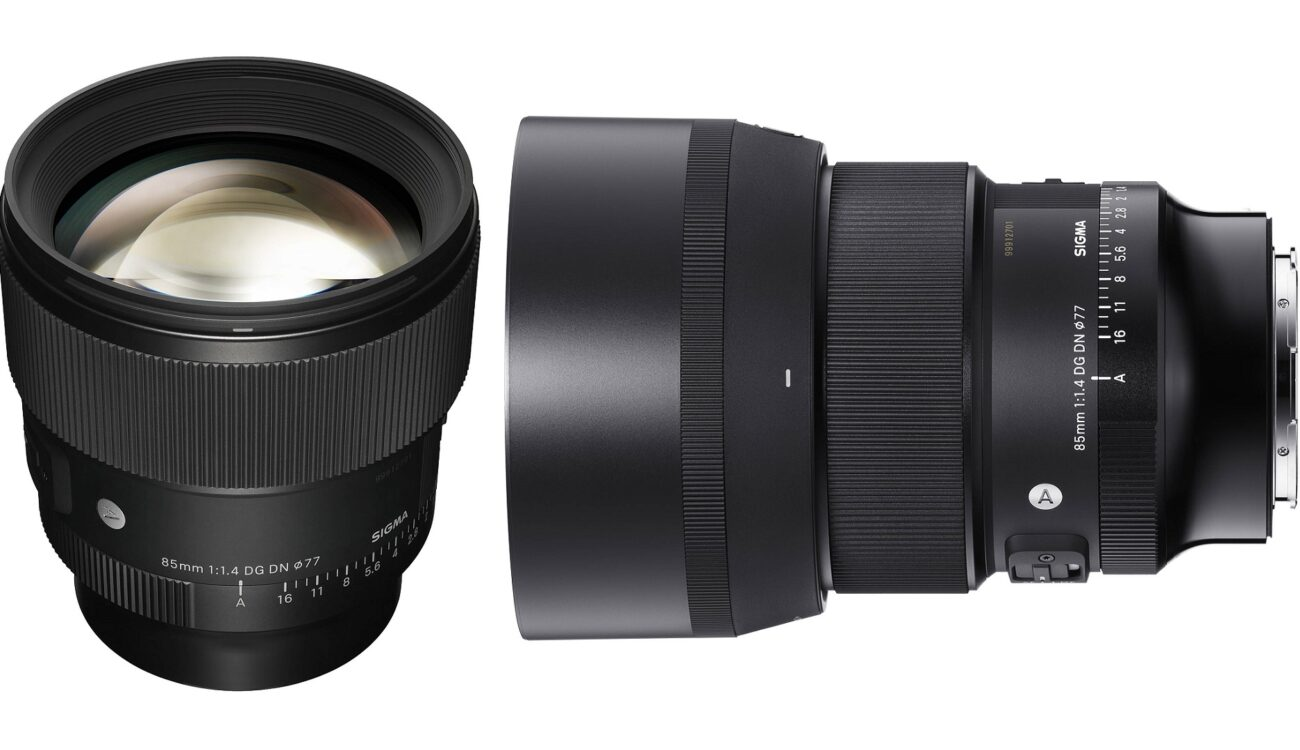 SIGMAが85mm F1.4 DG DN Artレンズを発表
