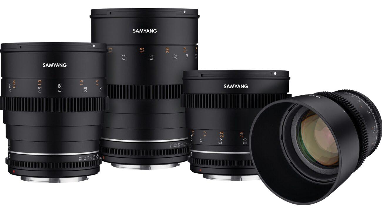 Samyang(サムヤン)がVDSLR MK2シネプライムを発表