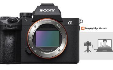 Sony Imaging Edge Webcam Released - Turns Compatible Sony Cameras into USB Webcam