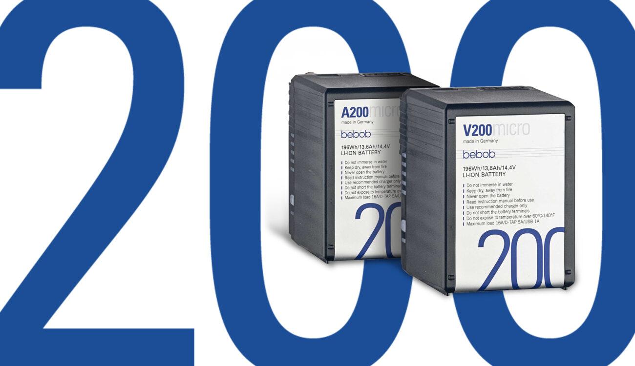 BebobがV200/A200 Microを発売