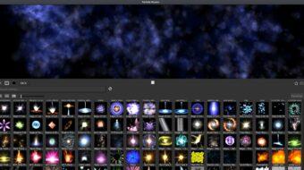 Particle Illusion de Boris FX - Aplicación independiente y gratuita para Gráficos de Movimiento y VFX