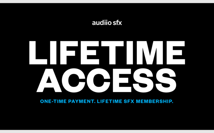 Audiio.com Launches Lifetime Sound Effects Membership