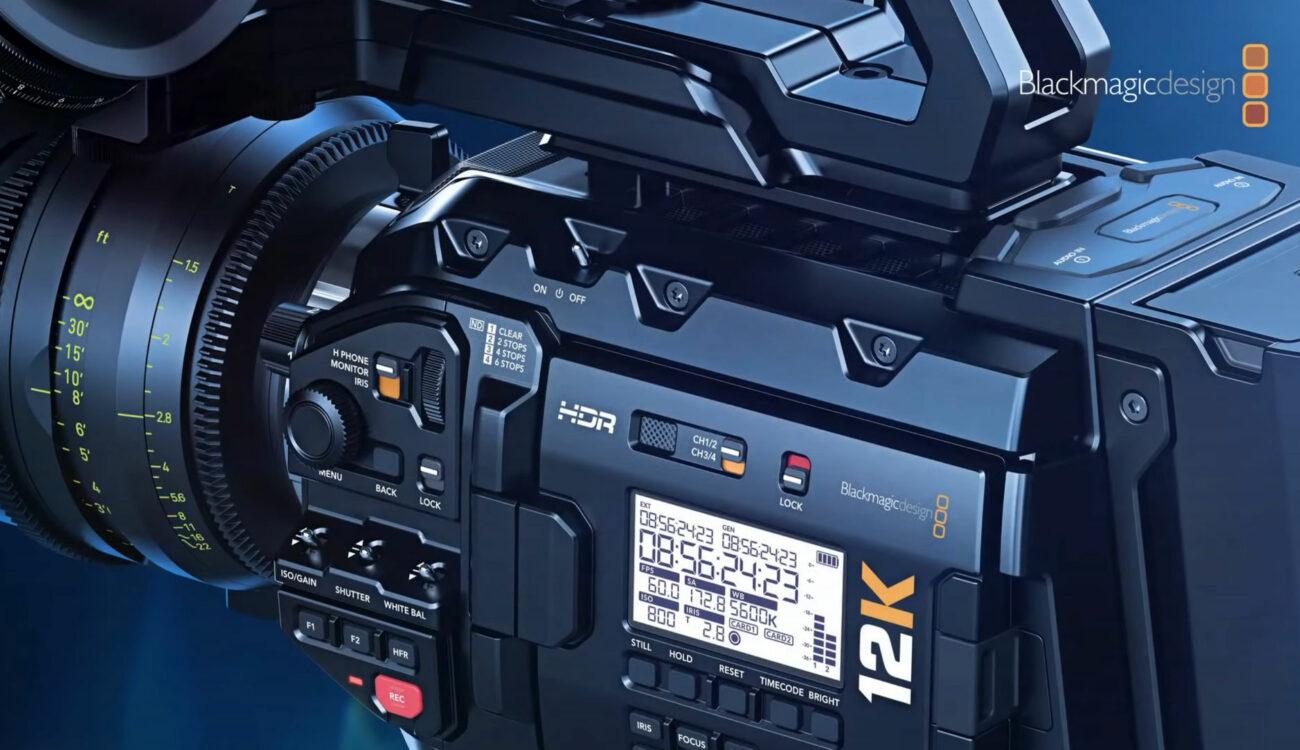 Blackmagic Camera Setup 7.0 Released - Higher Framerates for the URSA Mini Pro 12K