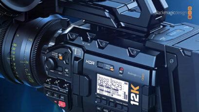 Lanzan Blackmagic Camera Setup 7.0 - Velocidades de cuadro más altas para la URSA Mini Pro 12K