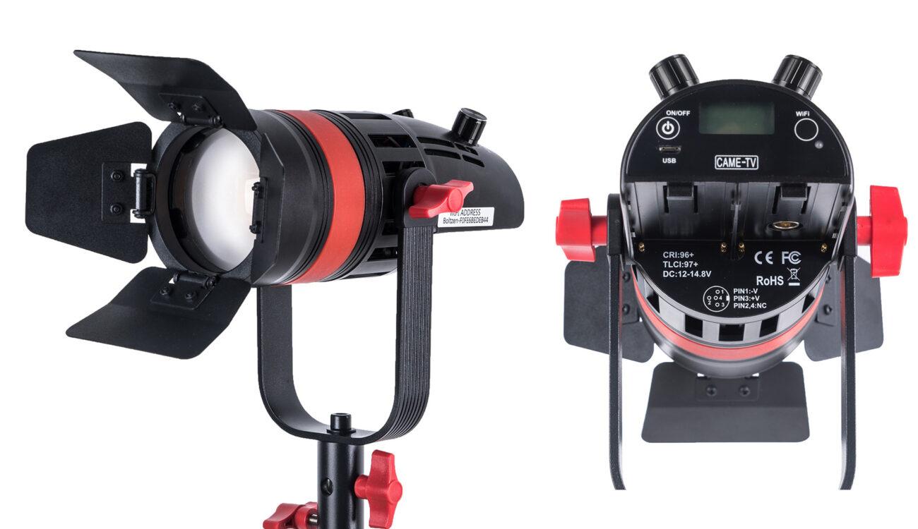 The CAME-TV Q-55W Boltzen 55w MARK II Daylight LED Fresnel