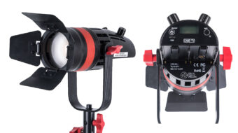 The CAME-TV Q-55W Boltzen 55w MARK II Daylight LED Fresnel