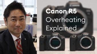 EOS R5/R6のオーバーヒート対策についてキヤノンにインタビュー