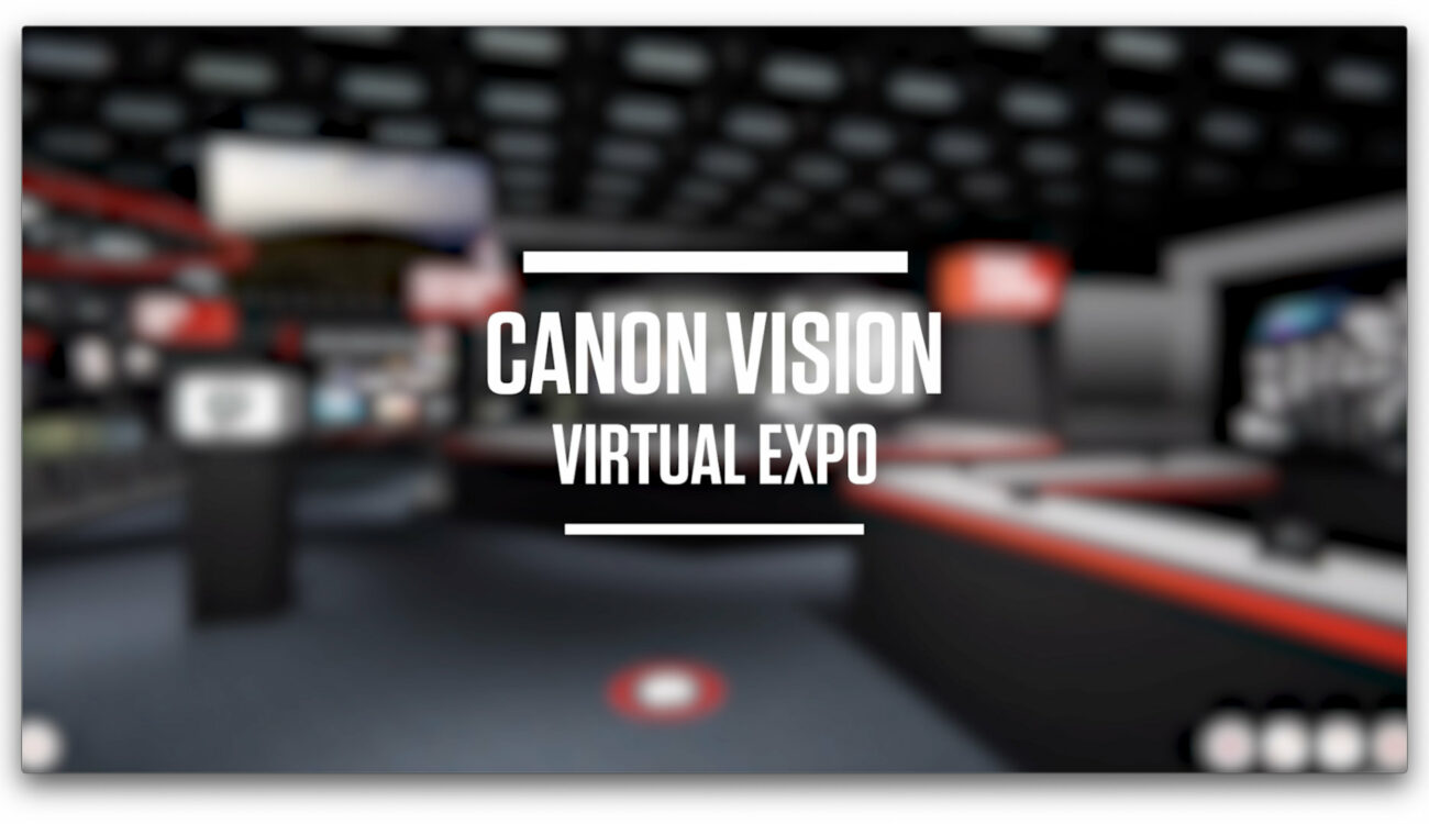 Virtual Trade Show by Canon - Concept of the Future?