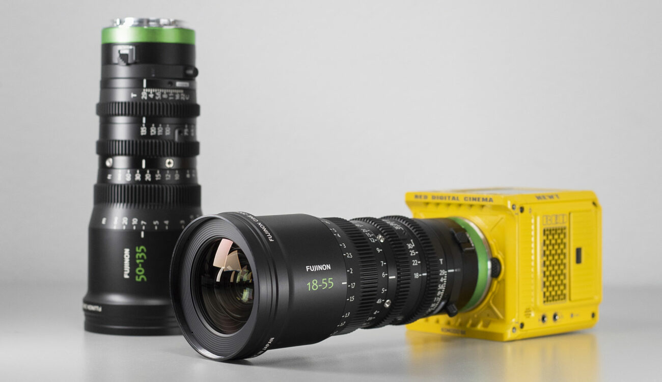 Duclos Lenses FUJINON MK-R - R-Mount Cinema Lens Conversion