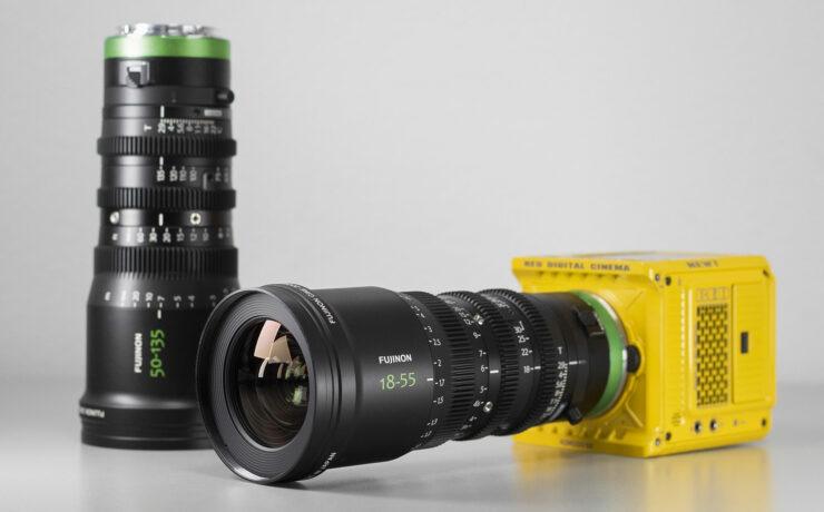 Duclos Lenses FUJINON MK-R - R-Mount Cinema Lens Conversion