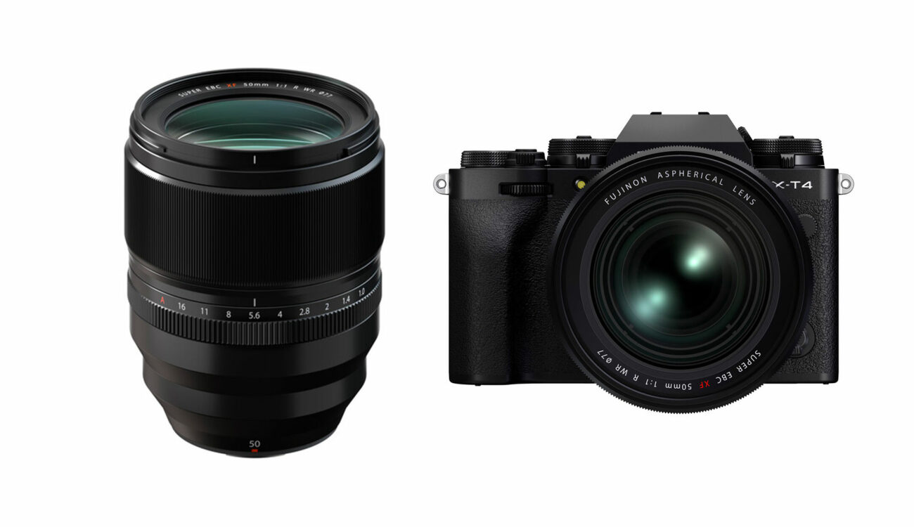 FUJIFILM XF 50mm F/1.0 R WR Lens Released