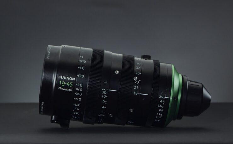 FUJINON Premista 19-45mm T2.9 Wide Angle Cine Zoom Lens Announced