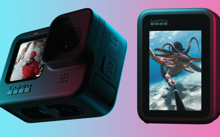 GoPro HERO9 Black Released - 5K Recording, Larger Battery and Front Display