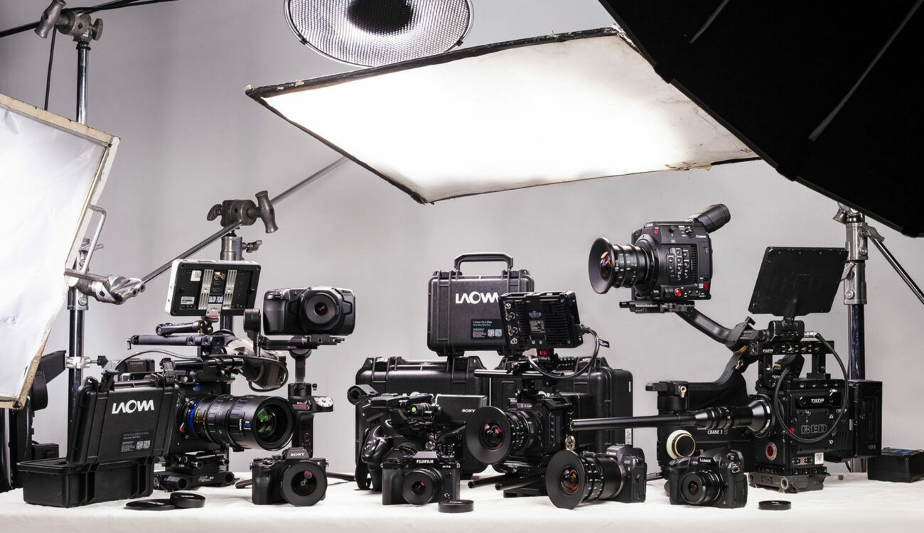 Laowa Wide Angle Zero-D Cine Lenses Now Available in Canon RF Mount