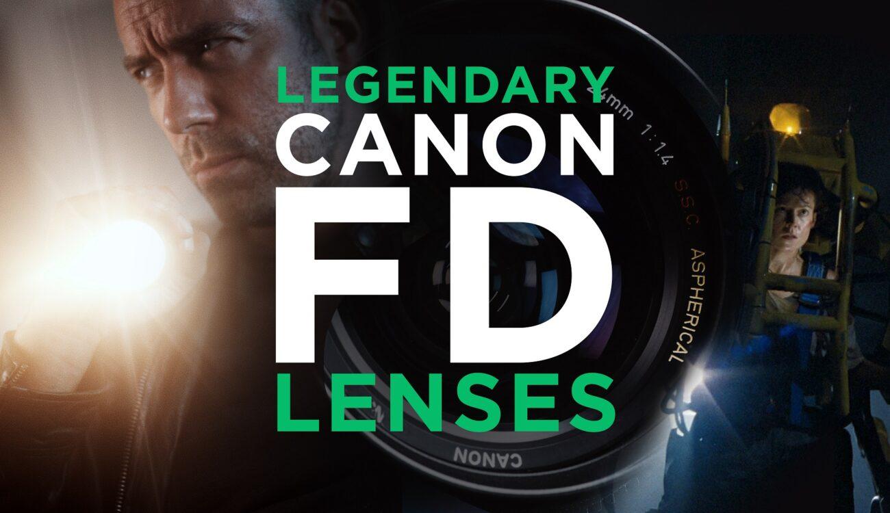 Recreando los legendarios lentes de cine Canon FD y K35 para bajo presupuesto
