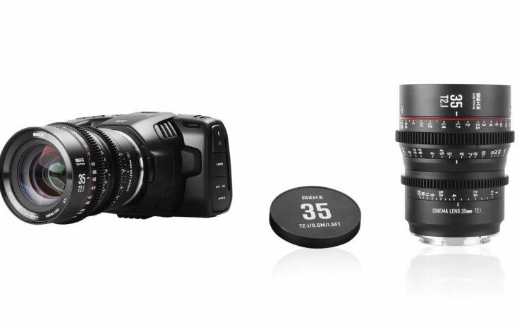 Meike 35mm T/2.1 S35-Prime Cine Lens Announced