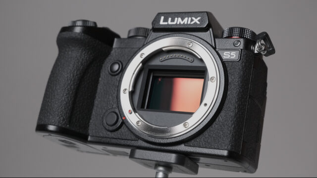 Panasonic LUMIX S5 no lens