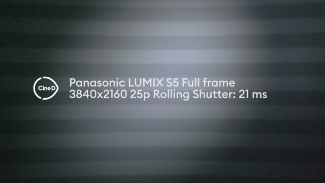 Panasonic LUMIX S5 Lab Test