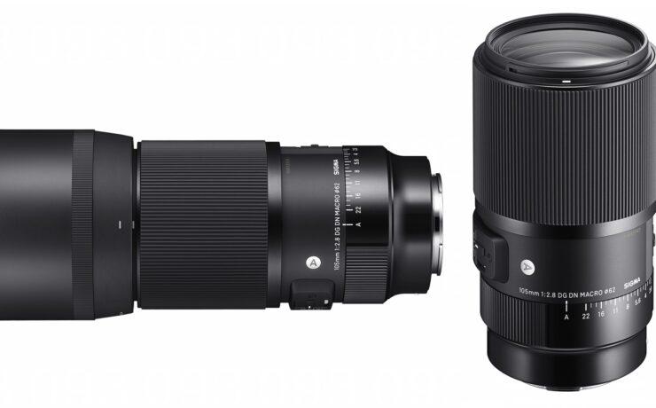 SIGMA 105mm f/2.8 DG DN MACRO Lens Announced