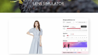 Samyang Lens Simulator - Now Available Online