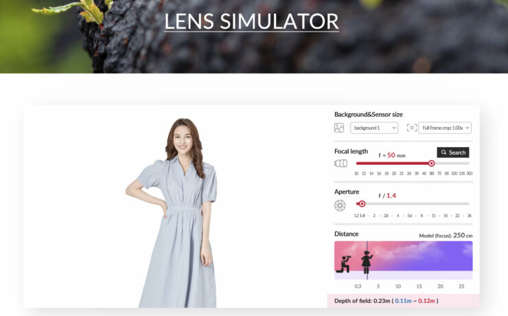 Samyang Lens Simulator - Now Available Online