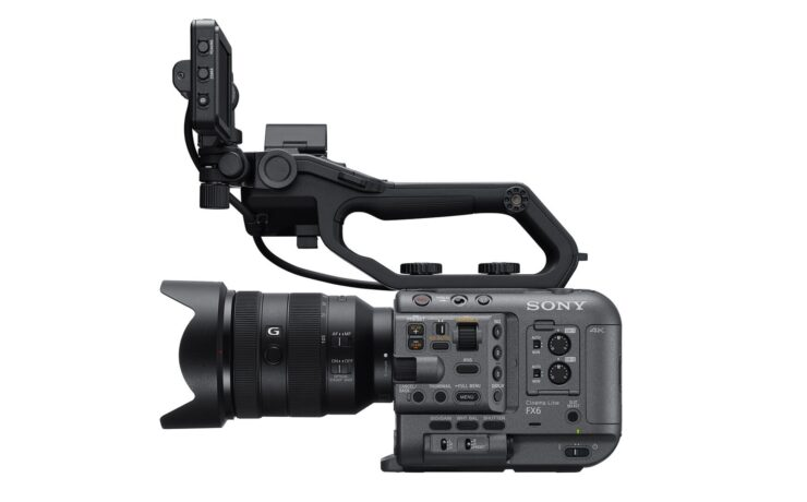 Sony Cinema Line Introduced - Sony FX6 Comes by the End of 2020